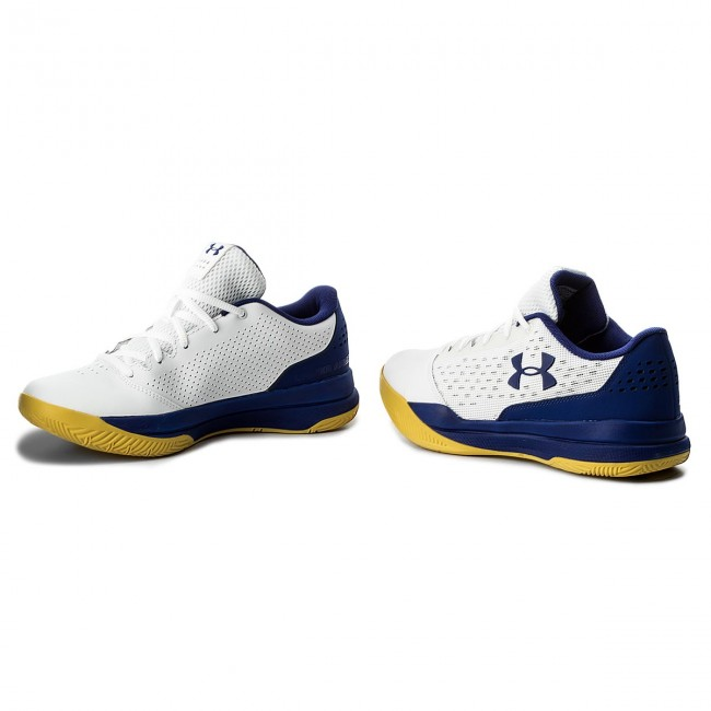 Palabra Regeneración embargo  Shoes UNDER ARMOUR - Ua Jet Low 3020254-101 Wht - Basketball - Sports shoes  - Men's shoes | efootwear.eu