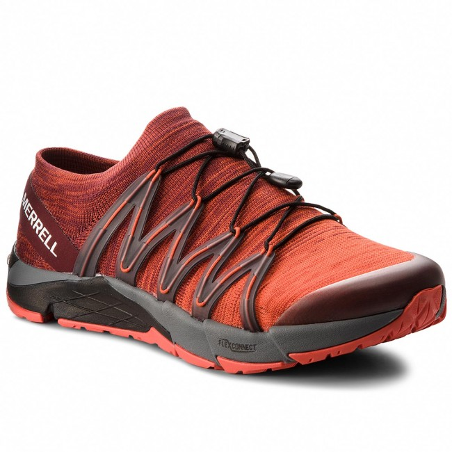 Shoes MERRELL - Bare Access Flex Knit J12539  Red