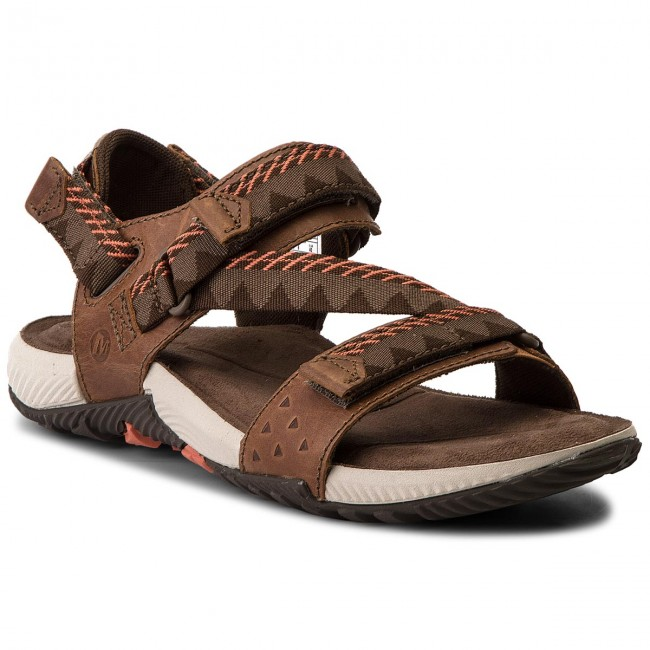 Sandals MERRELL - Terrant Convert J93913 Brown Sugar