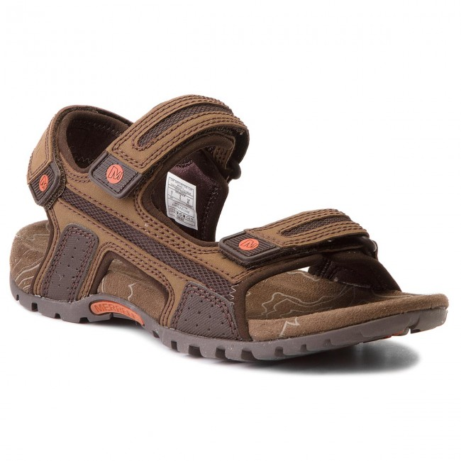 Sandals MERRELL - Sandspur Oak J276753C Dk Earth/P.Clay