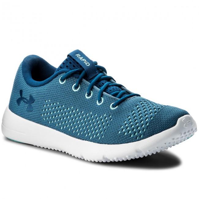 Shoes UNDER ARMOUR - Ua W Rapid 1297452-400 Bbs/Bif/Mnb