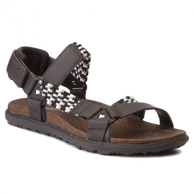 Sandals MERRELL - Around Town Sunvue Woven J94148 Black