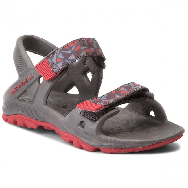 Sandals MERRELL - Hydro Drift MC57951 Grey/Red
