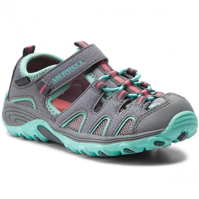 Sandals MERRELL - Hydro H2O Hike MC57961 Gry/Tur