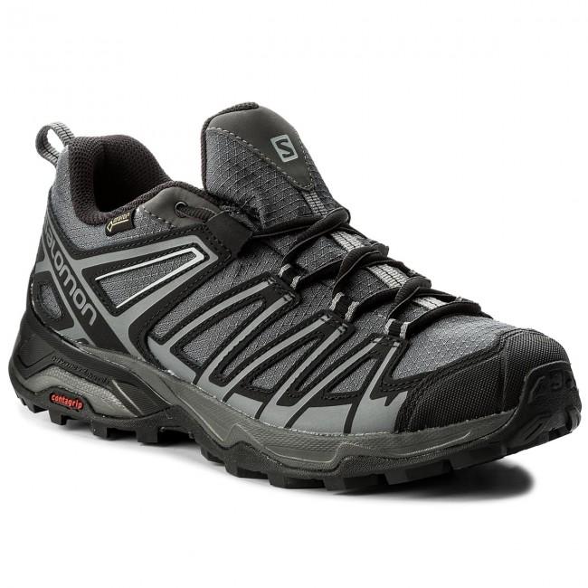 ellos fragmento Mucho  Trekker Boots SALOMON - X Ultra 3 Prime Gtx GORE-TEX 402461 27 W0  Magnet/Black/Shade - Trekker boots - Low shoes - Men's shoes | efootwear.eu