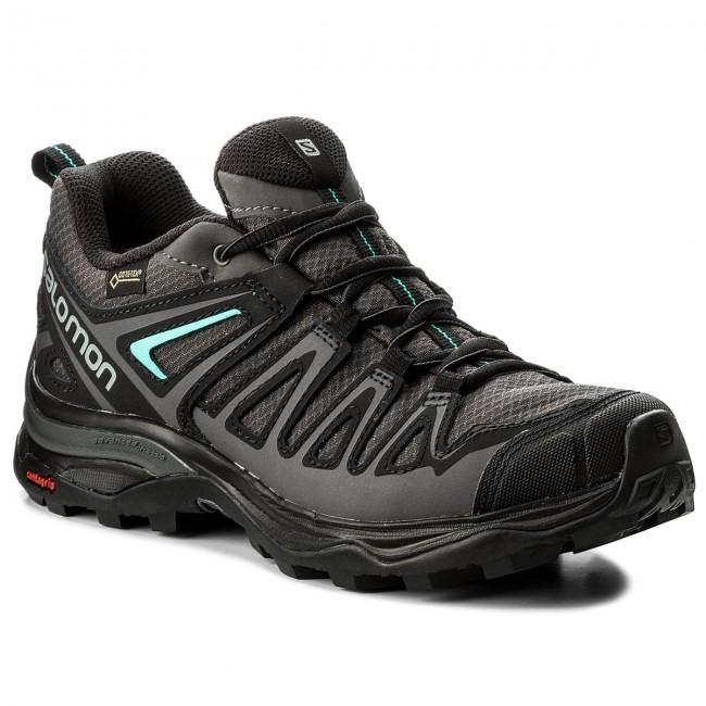Trekker Boots SALOMON X Ultra 3 Prime Gtx W GORE TEX 402462 21 W0 MagnetBlackAtlantis