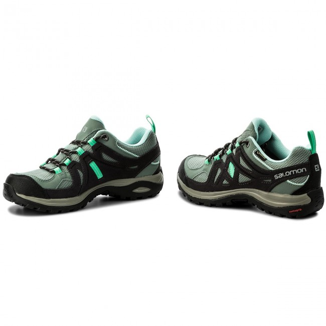 Trekker Boots SALOMON Ellipse 2 Gtx W GORE TEX 379201 21 M0 Light TtAsphaltJade Green
