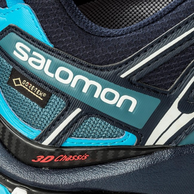 Buy Salomon Men's XA Pro 3D GTX lyons blue navy blazer rock