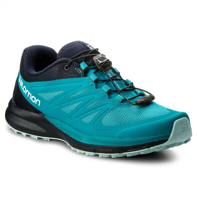 Shoes SALOMON Sense Pro 2 W 398502 20 W0 Enamel BlueNavy BlazerEggshell Blue