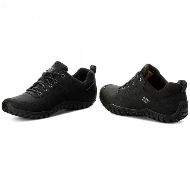 CAT CATERPILLAR Instruct P722309 Leather Sneakers Casual Athletic Shoes Mens New