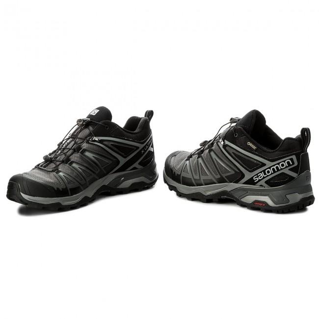 Trekker Boots SALOMON X Ultra 3 Gtx GORE TEX 398672 29 W0 BlackMagnetQuiet Shade