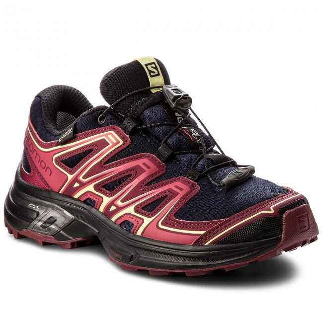 Shoes SALOMON Wings Flyte 2 Gtx GORE TEX 399714 20 W0 Evening BlueBeet RedSunny Lime sgEBJ