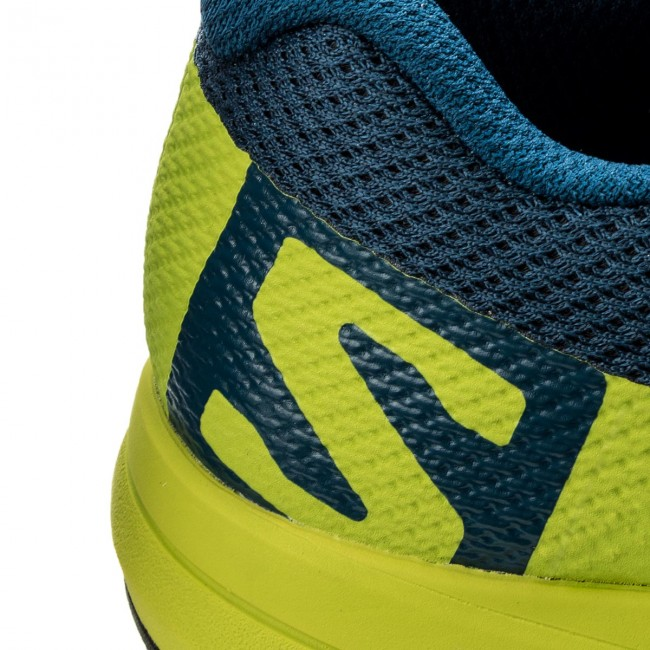 Shoes SALOMON Xa Elevate 400064 29 V0 PoseidonLime GreenBlack