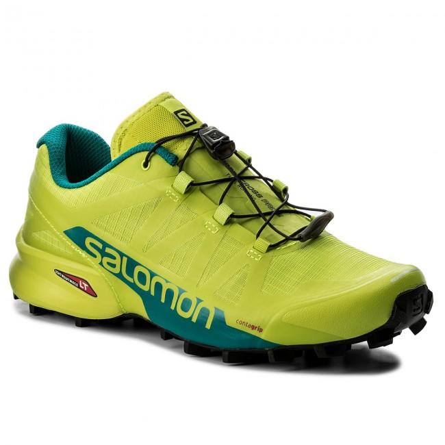 Shoes SALOMON Speedcross Pro 2 400702 28 G0 Acid LimeDeep LakeBlack