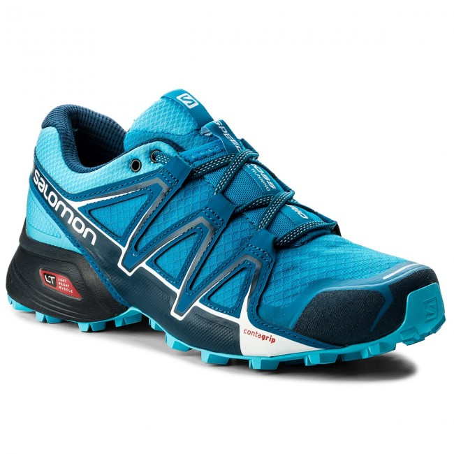 Shoes SALOMON Speedcross Vario 2 W 400714 24 V0 Hawaiian SurfAquariusMykonos Blue