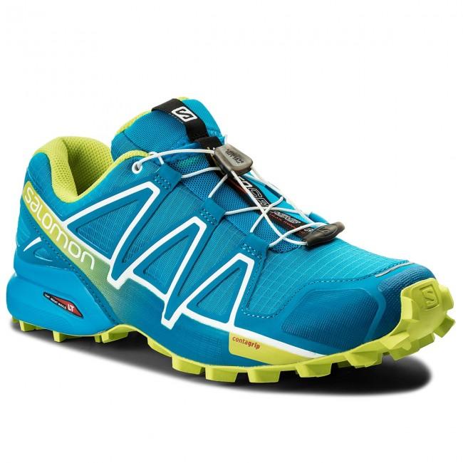 Shoes SALOMON Speedcross 4 400746 31 V0 Hawaiian SurfAcid LimeWhite