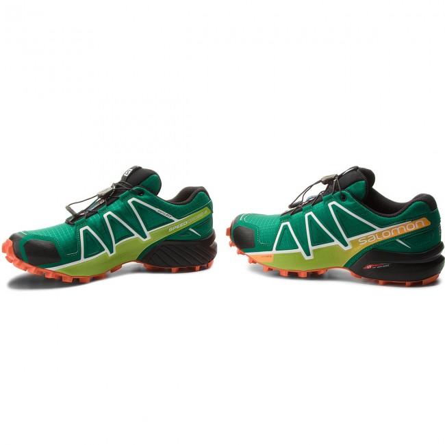 Shoes SALOMON Speedcross 4 400761 27 V0 Ultramarine GreenBlackScarlet Ibis