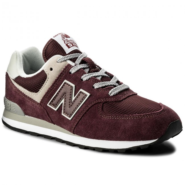 337ec4f9138f3 Sneakers NEW BALANCE - GC574GB Dark Red - Sneakers - Low shoes - Women's  shoes - efootwear.eu