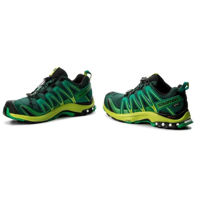 Shoes SALOMON Xa Pro 3D Gtx GORE TEX 400913 31 V0 RainforestLime GreenFern Green