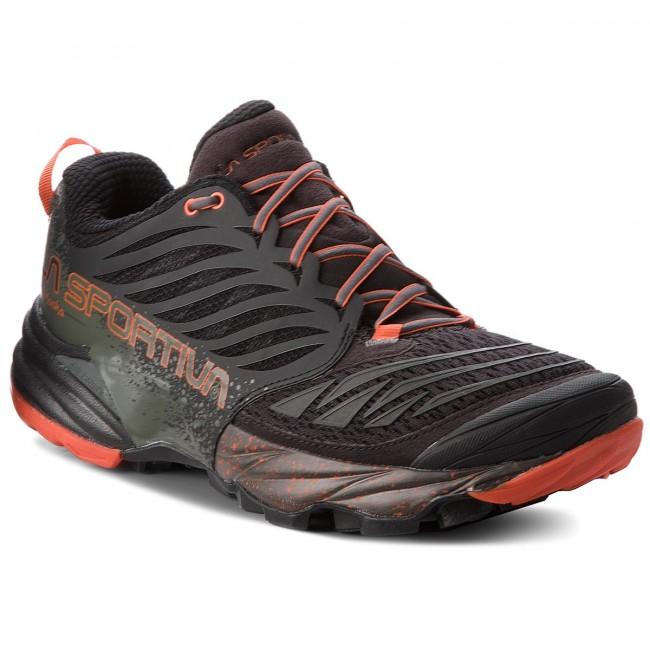 Shoes LA SPORTIVA - Akasha 26Y999202 Black/Tangerine