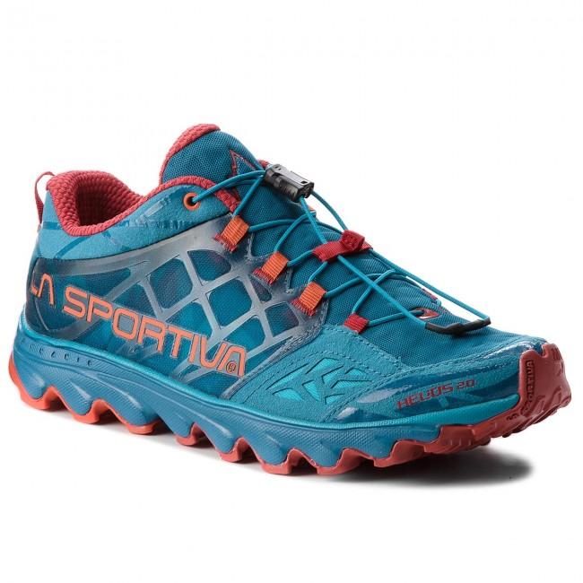 Shoes LA SPORTIVA - Helios 2.0 36A614202 Tropic Blue/Tengerine