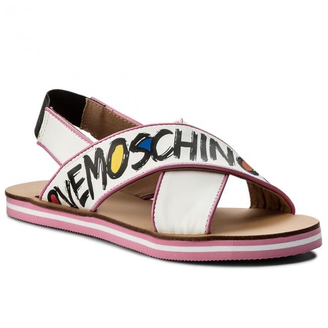 Sandals LOVE MOSCHINO JA16362G05JD110A Nap.BianVern.Rosa