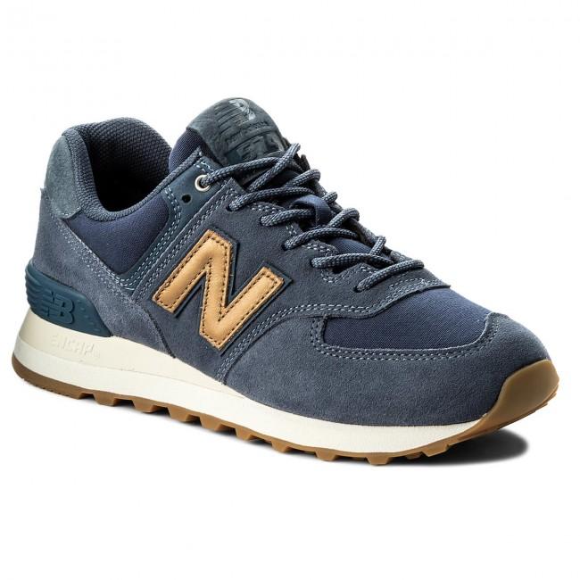 cc653c9690078 Sneakers NEW BALANCE - WL574CLI Navy Blue - Sneakers - Low shoes - Women's  shoes - efootwear.eu