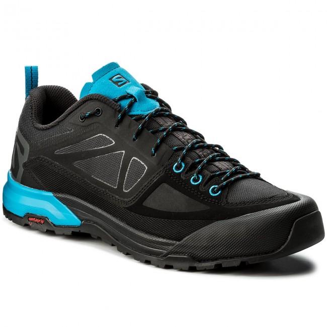 Trekker Boots SALOMON X Alp Spry 401504 30 V0 BlackMagnetHawaiian Surf