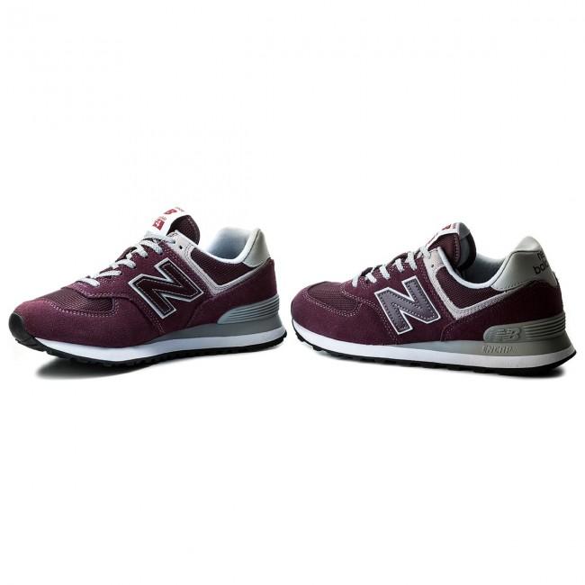 free shipping 54c67 68419 Sneakers NEW BALANCE - ML574EGB Dark Red