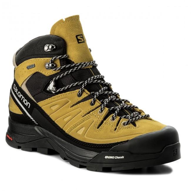 Salomon Alp Tex Kakiblack Gtx Green 27 401653 X Trekker Boots Sulphurvintage V0 Ltr Gore Mid lF1cJK