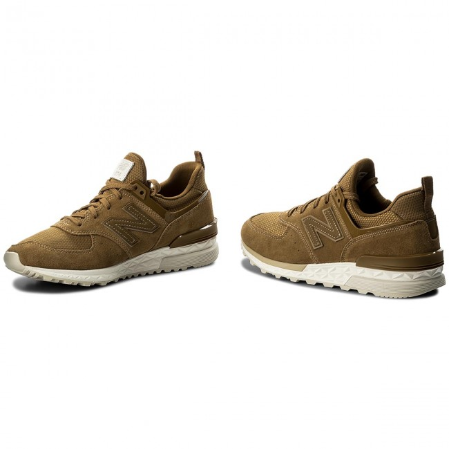 premium selection 176a0 35212 Sneakers NEW BALANCE - MS574FSB Brown
