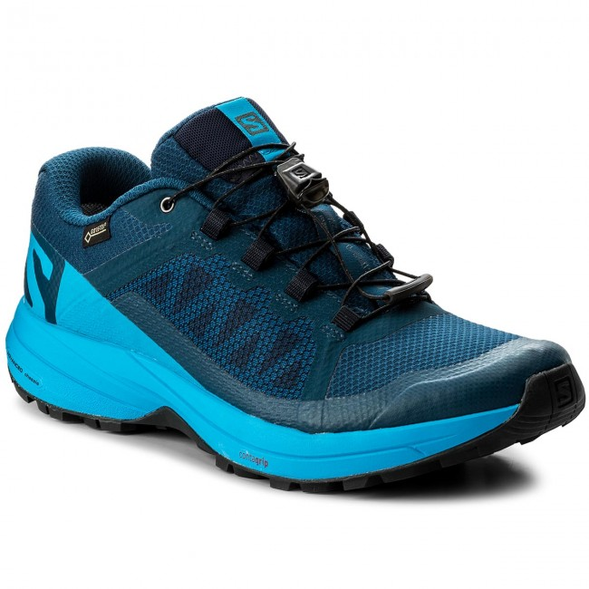 Shoes SALOMON Xa Elevate Gtx GORE TEX 402398 PoseidonHawaiian SurfBlack