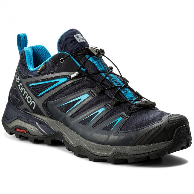 Salomon X Ultra 3 GTX® Hiking Shoe graphitenight skyhawaiian surf