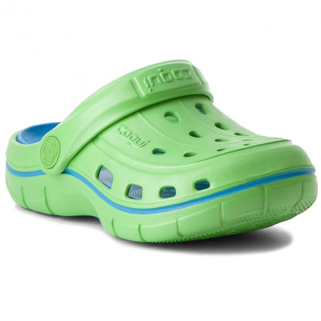 Slides COQUI - Jumper 6353 Lime/Sea Blue