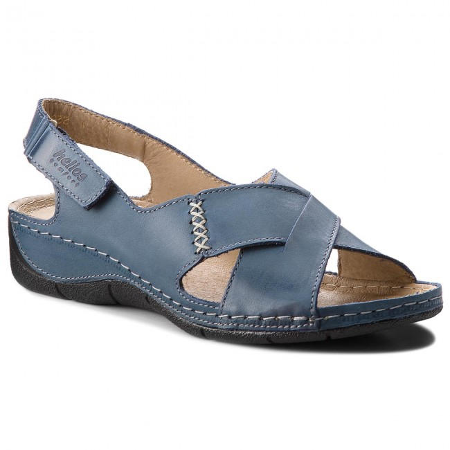 Sandals HELIOS - 229-1 Granat