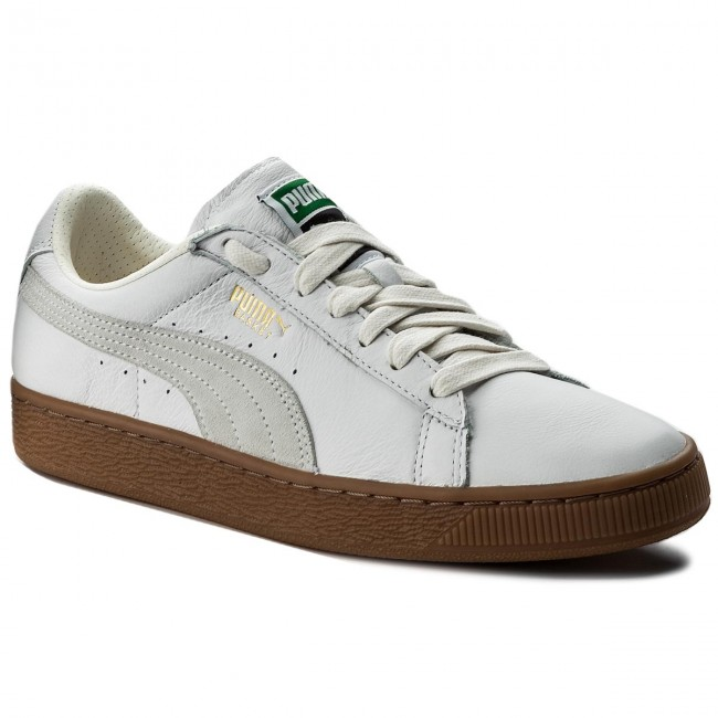 organizar por no mencionar pómulo  Sneakers PUMA - Basket Classic Gum Deluxe 365366 01 Puma White - Sneakers -  Low shoes - Men's shoes | efootwear.eu