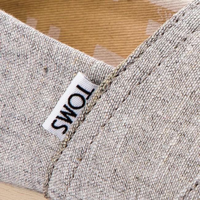 Shoes TOMS Classic 10011016 Drizzle Grey Slub Chambray
