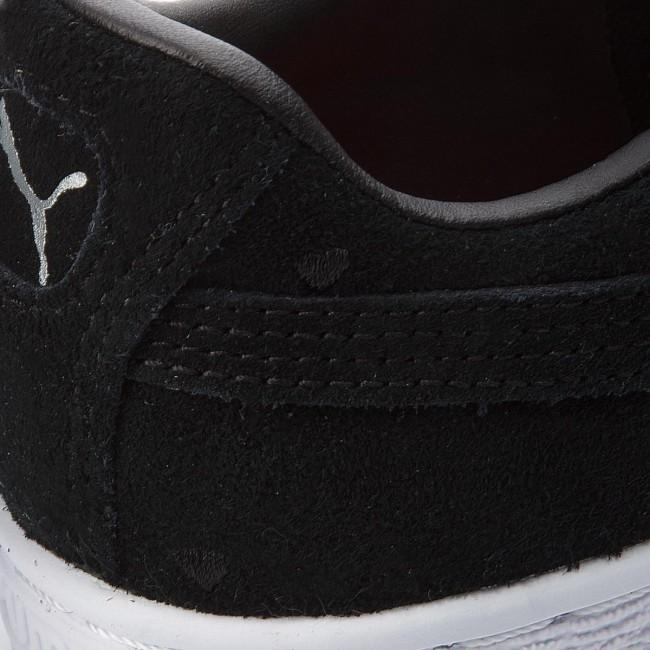 los angeles 62415 e8793 Sneakers PUMA - Suede Heart Valentine Jr 365135 02 Puma Black/Puma Black