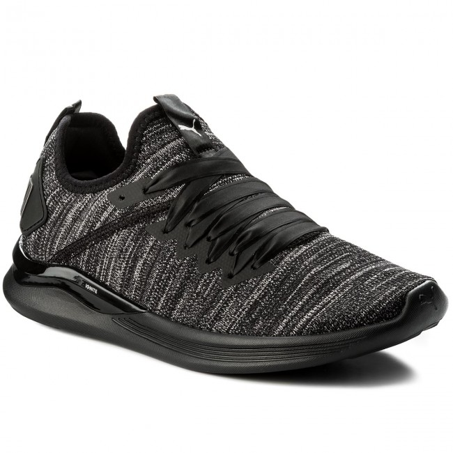 volumen grande grandes variedades fábrica Shoes PUMA - Ignite Flash EvoKnit S Ep Wn 190959 01 Black ...