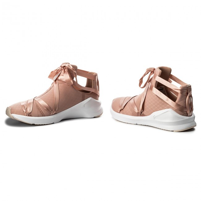 new arrival 6c60b 1f737 Shoes PUMA - Fierce Rope Satin EP Wn's 190538 01 Peach Beige/Puma  White/Pearl