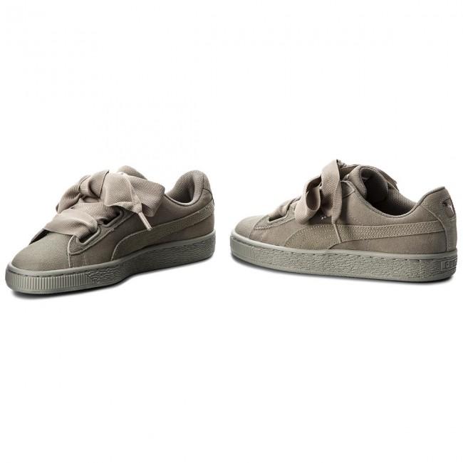 finest selection e08c8 eaa8a Sneakers PUMA - Suede Heart Pebble Wn's 365210 02 Rock Ridge/Rock Ridge