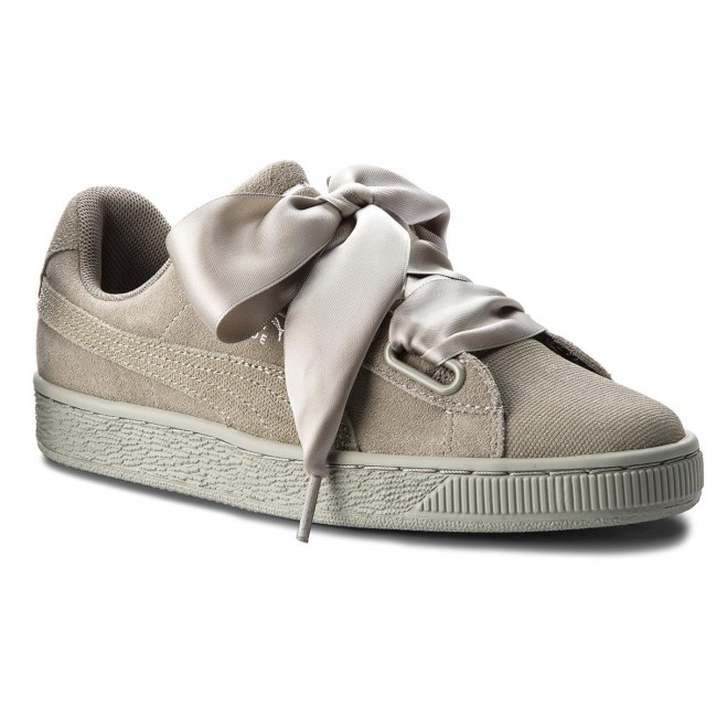 Sneakers PUMA - Suede Heart Pebble Wn's