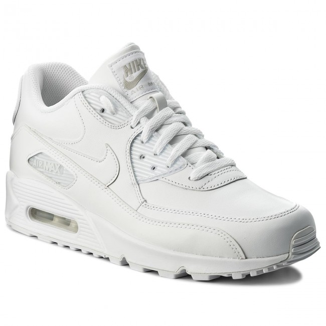Shoes NIKE Air Max 90 Leather 302519 113 True WhiteTrue White