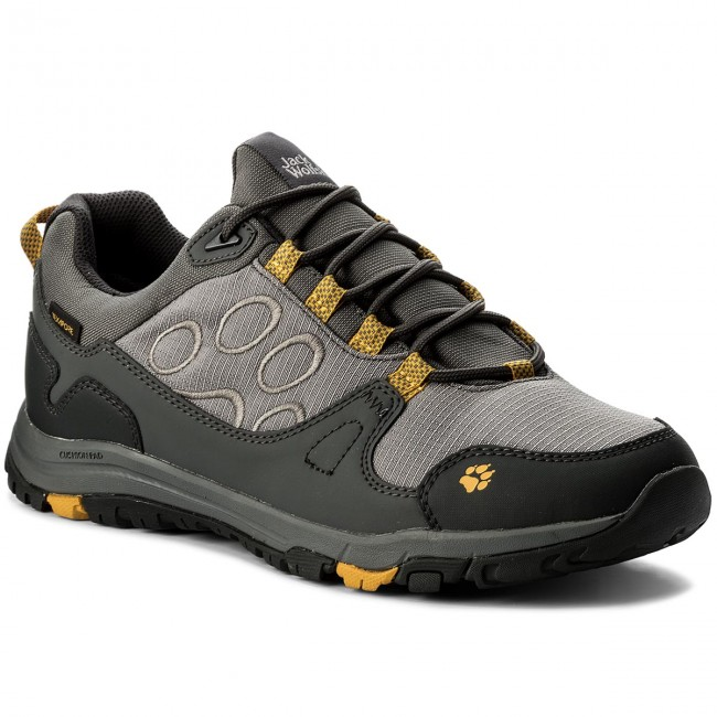 Trekker Boots JACK WOLFSKIN Activate Texapore Low M 4024361 Burly Yellow Xt