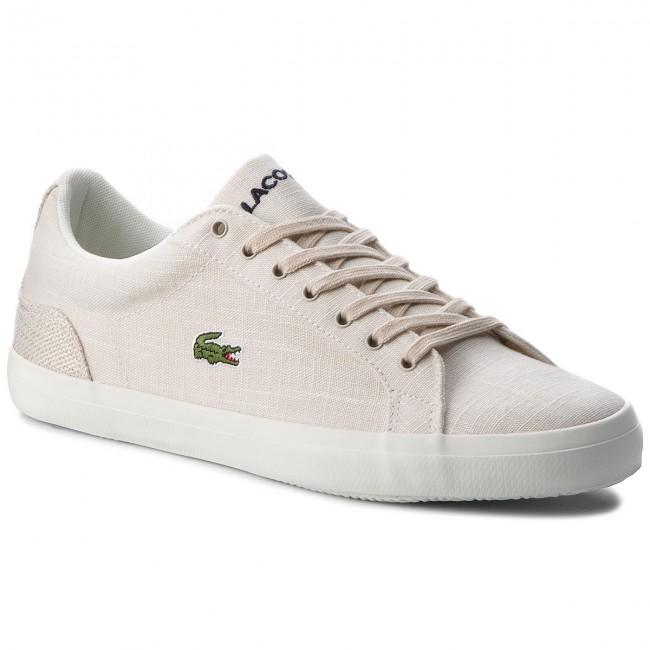 Sneakers LACOSTE - Lerond 218 1 Cam 7-35CAM007583J Wht/Nat