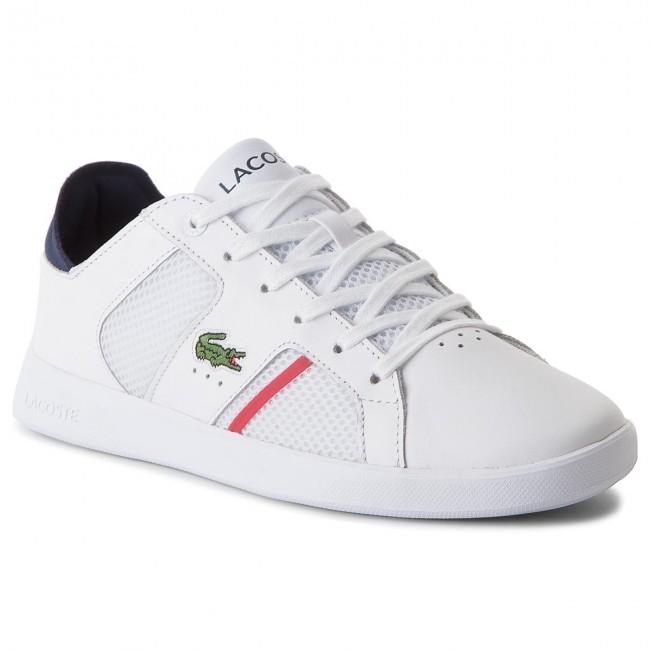 Sneakers LACOSTE - Novas Ct 218 1 Spm 7-35SPM0041042 Wht/Nvy