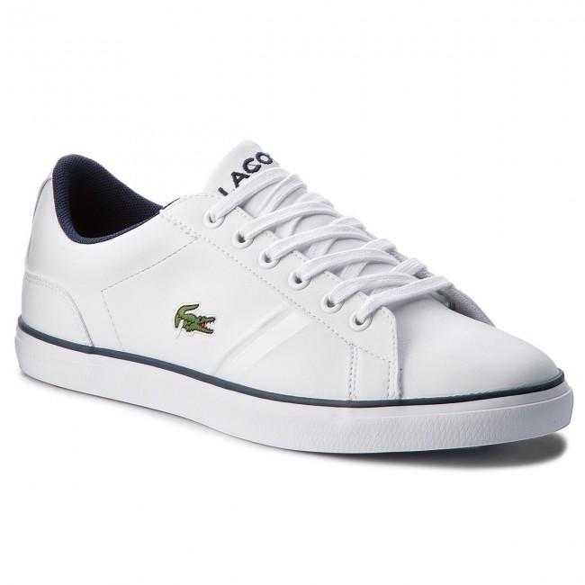 Sneakers LACOSTE - Lerond 218 2 Caj 7-35CAJ0016042 Wht/Nvy