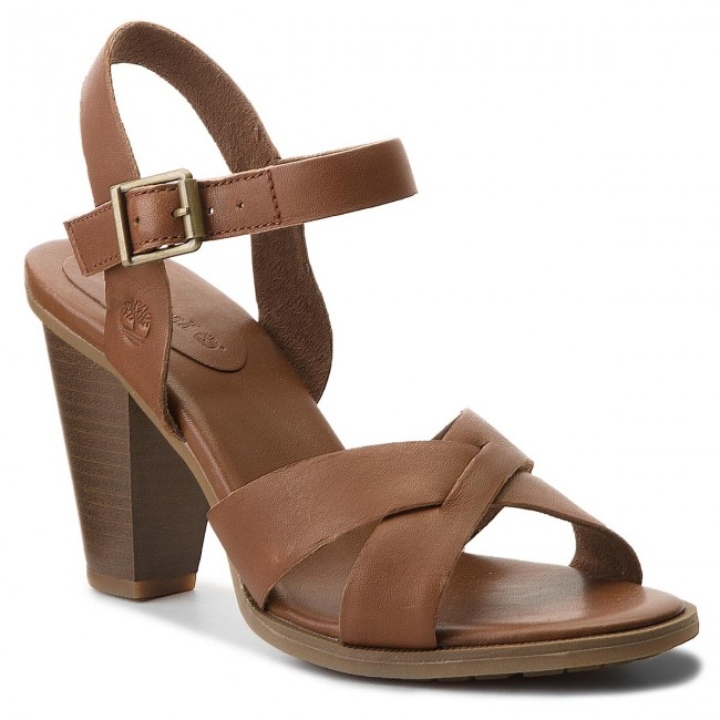 Sandals TIMBERLAND - Derby Heights Sandal A1IEA Cognac