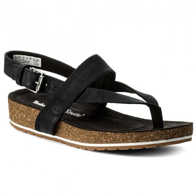 Women's Malibu Waves Thong Sandal black 6