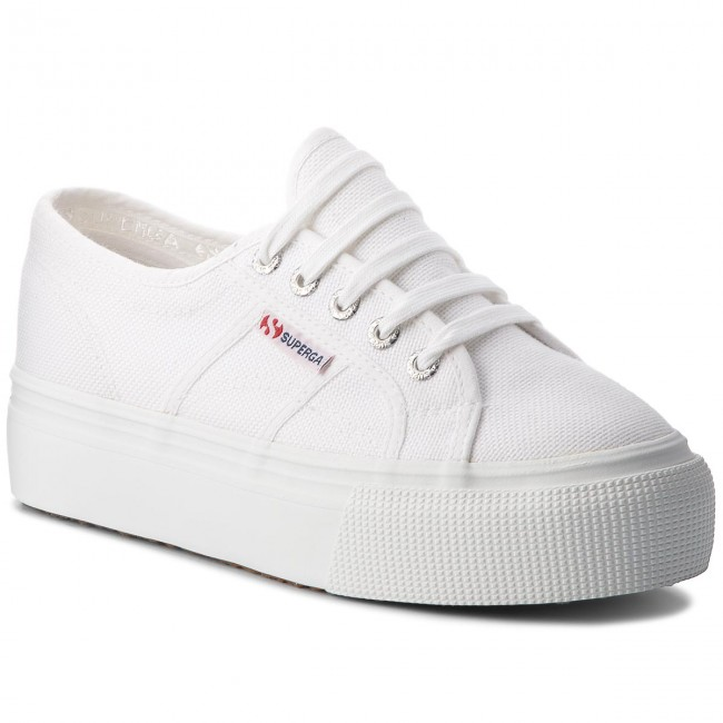 Plimsolls SUPERGA - 2790 Acotw Linea Up And Down S0001L0 White 901